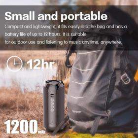 Prenosni Bluetooth zvočnik Brezžični nizkotonski stolpec Vodoodporni zunanji zvočniki Boombox AUX TF USB Subwoofer Stereo zvočnik Som